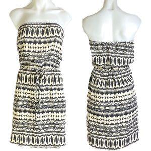 Veronica M Charmeuse strapless Dress